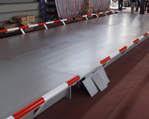 Truck Scale( with Guardrail)
