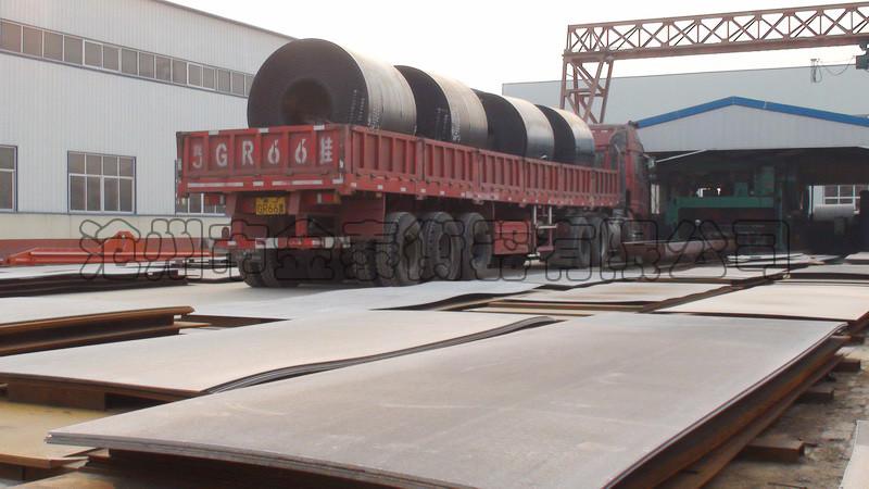钢卷原料进厂
